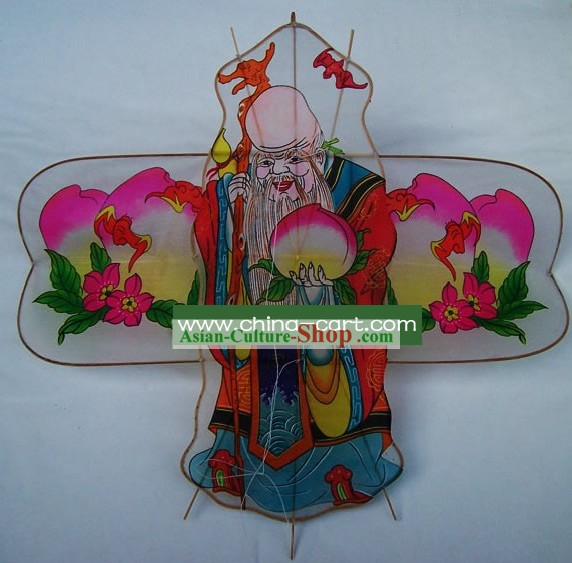 Chinese Classical Hand Made Kite - God of Longevity
