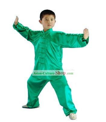 Chinese Professional Kung Fu Practice Uniform for Children