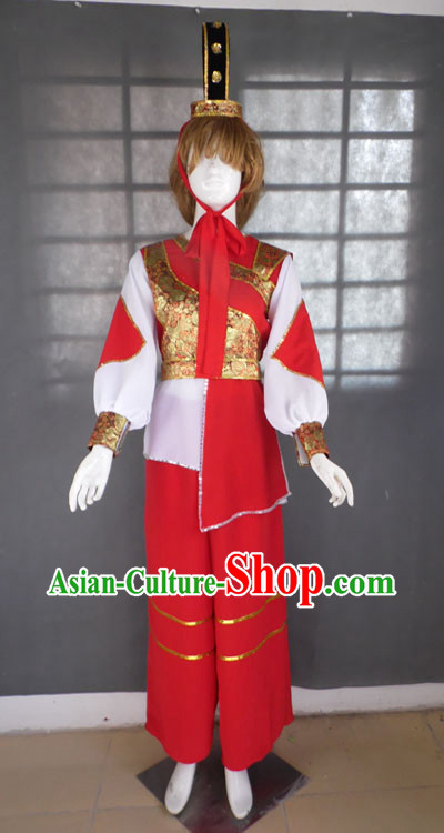Hua Mulan Female Heroine Professional Stage Performance Dance Costumes