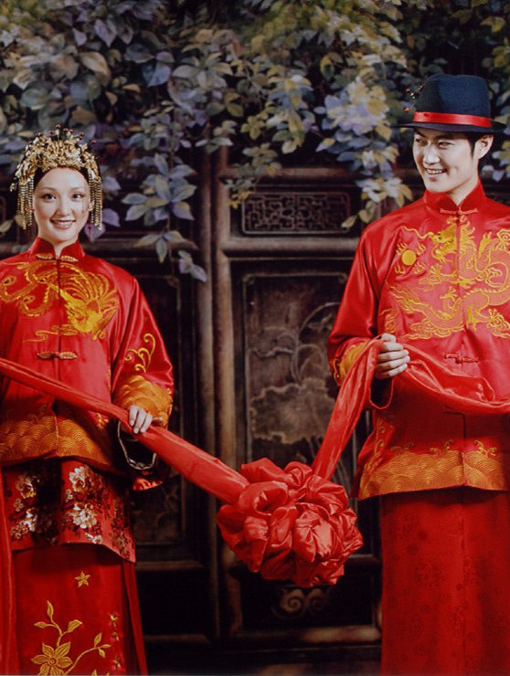 Chinese Ancient Wedding Dresses