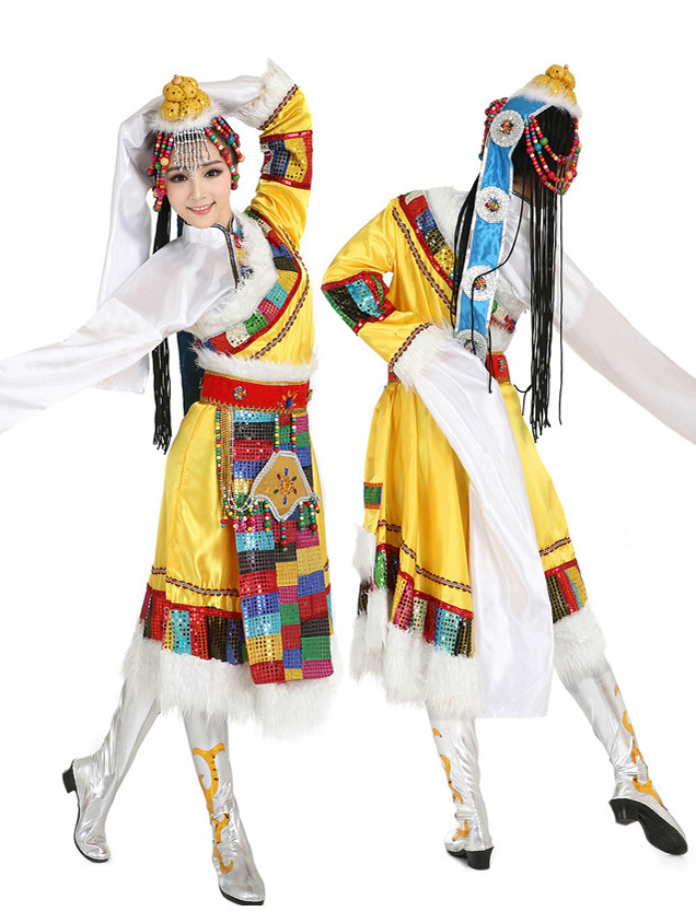Tibetan Clothes & Dance Costumes