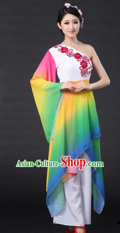4c6701efa Rain Flower Dance Costume Yu Zhong Hua Beijing Dance Academy Version ...
