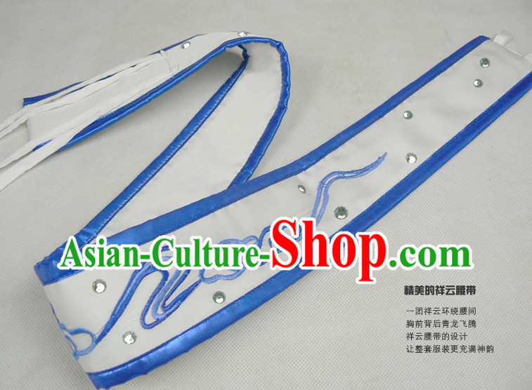 Top Traditional Dragon Embroidery Martial Arts Belt