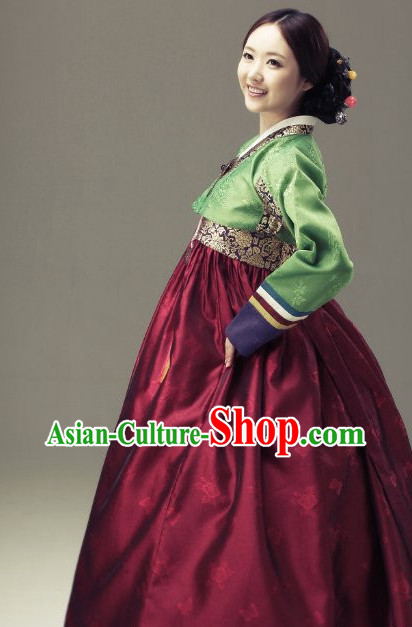 Korean Traditional Hanbok Clothing Dress online Ladies Clothes Designer Clothes