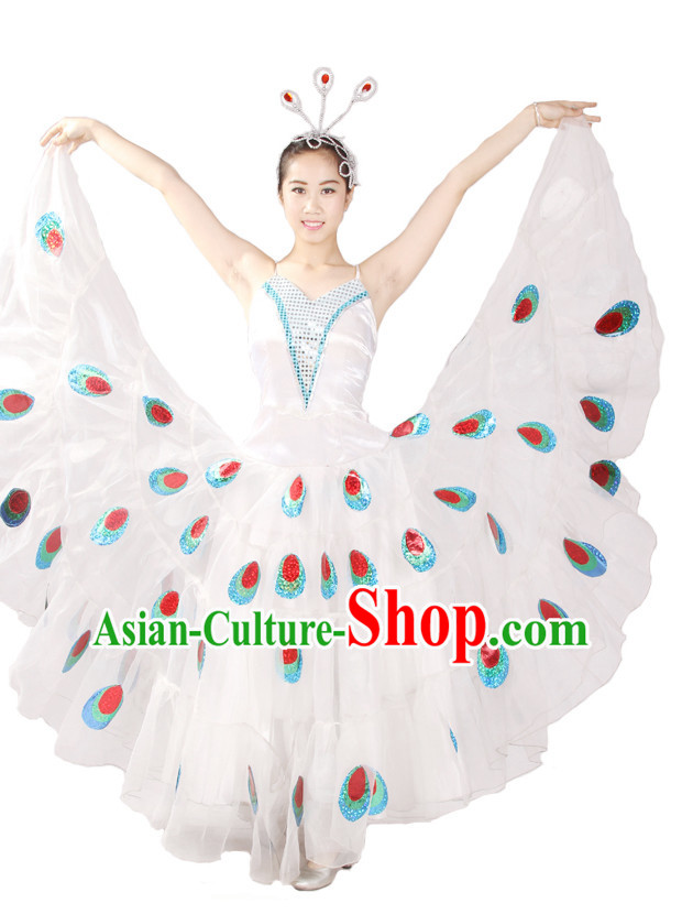 d9bcff30ac1bf Chinese Style Parade Peacock Dance Costume Ideas Dancewear Supply Dance  Wear Dance Clothes Suit