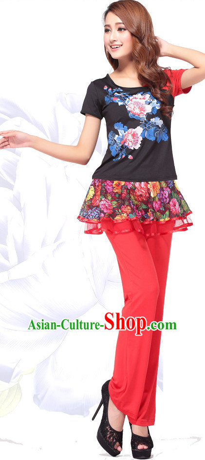 Chinese Professional Dance Costume Discount Dance Gymnastics