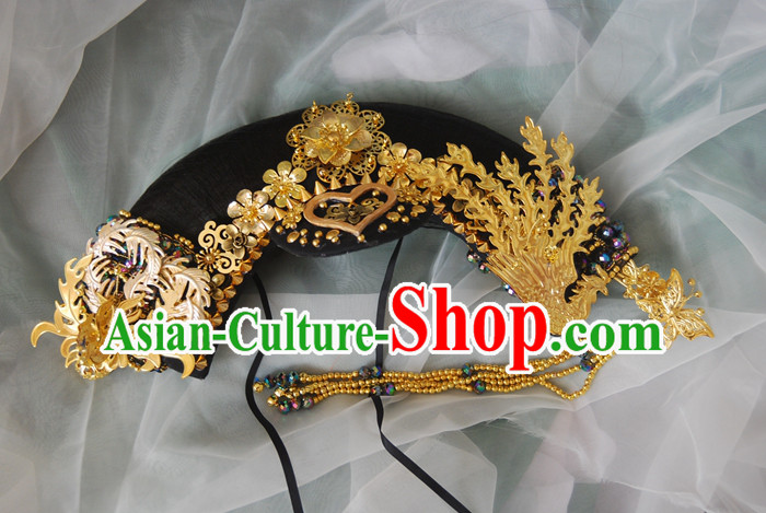 3ec589bed5e03 Gold Chinese Ancient Style Empress Princess Hair Jewelry Phoenix ...