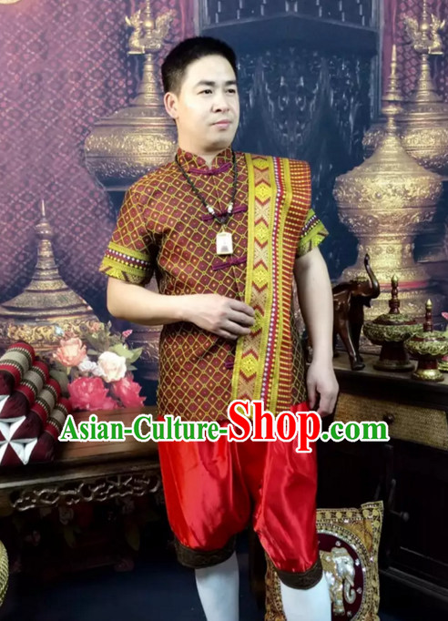 15cee36f63 Top Traditional National Thai Costumes Garment Dress Thai Traditional Dress  Dresses Wedding Dress Complete Set for