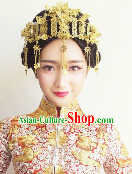 Chinese Traditional Hair Accessories Baroque