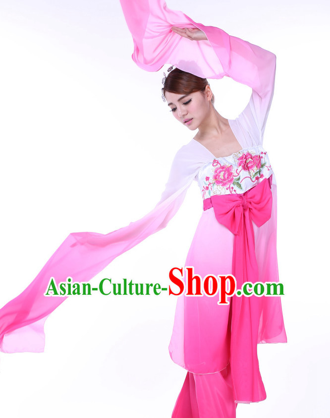 a4762f3cf Chinese Water Sleeves Dance Costume Ribbon Dance Costumes Fan Dance Dancer  Dancing Dresses for Women. $99.00 & FREE Shipping Worldwide