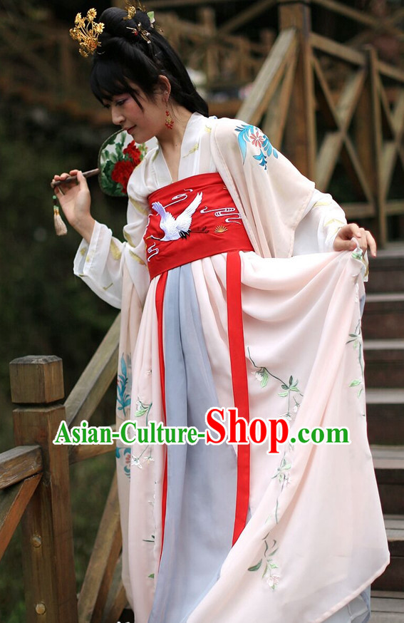 Traditional Chinese Ancient Tang Dynasty Clothing Imperial