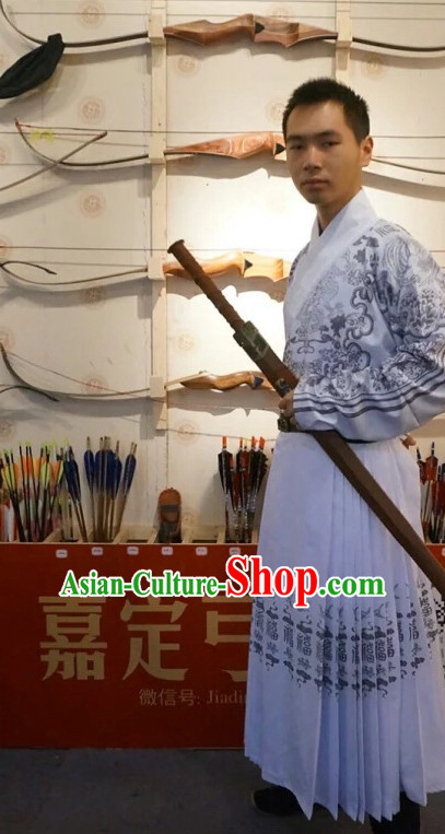 Traditional Chinese Ancient Ming Dynasty Clothing Imperial Dresses Beijing Classical Chinese Clothing for Men