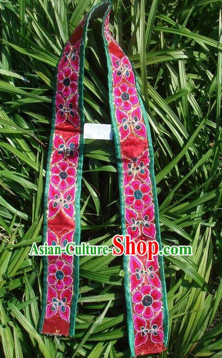 Traditional Chinese Miao Nationality Minority Crafts Hmong