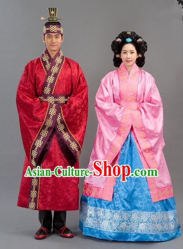 Traditional Korean Costumes Bridegroom Formal Attire