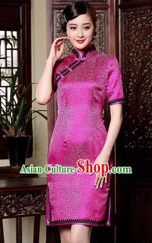 6004731fc1c Traditional Chinese National Costume Hanfu Mandarin Qipao Dress