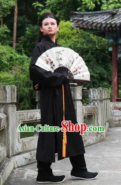 Traditional Ancient Chinese Gifted Youth Costume, Elegant Hanfu Clothing Chinese Ming Dynasty Scholar Clothing for Men