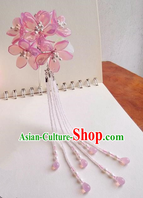 Traditional Handmade Chinese Ancient Princess Classical Accessories Jewellery Miao Sliver Coloured Glaze Hair Sticks Hair Jewellery, Hair Fascinators Hairpins for Women