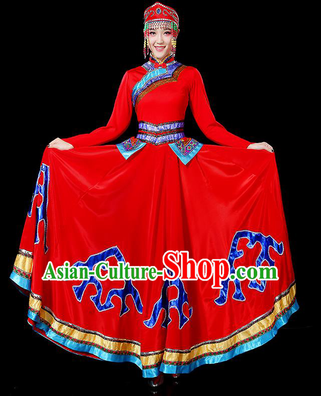 5a12cbfb8 Traditional Chinese Tujia Nationality Dancing Costume