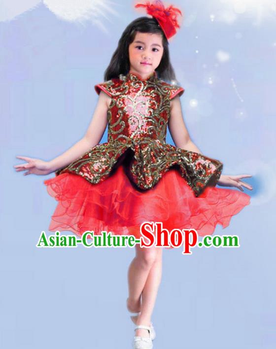 a08d66599 Top Grade Modern Dance Costume Stage Performance Ballet Dance Pink ...
