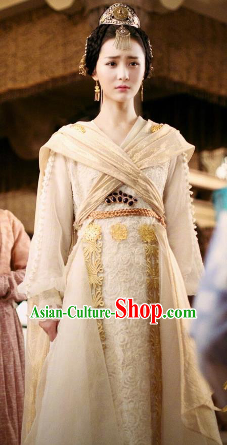 c79788c30 Traditional Chinese Ancient Tang Dynasty Princess Costumes and Handmade Headpiece  Complete Set, China The Glory of Tang Dynasty Ancient Peri Princess Dress  ...