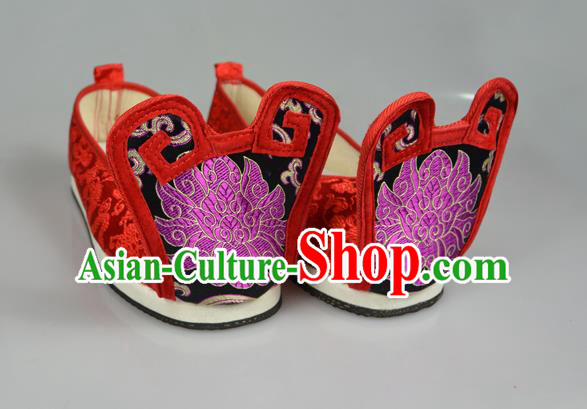 5ac92608a06e Asian Chinese Wedding Shoes Embroidery Princess Shoes