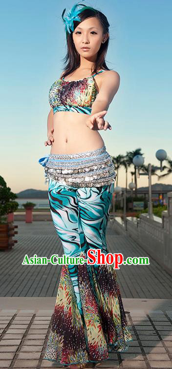 245983641 Indian Traditional Oriental Bollywood Dance Clothing Belly Dance Sexy  Costume for Women