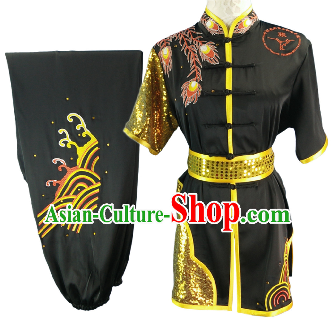 03513a1e7 Top Changquan Nanquan Long Fist Southern Fist Phoenix Embroidery Best and  the Most Professional Kung Fu Martial Arts Clothing Competition Suits