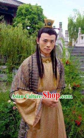 995b660384 Ancient Chinese Ming Dynasty Emperor Zhu Youjian Embroidered Costume for Men