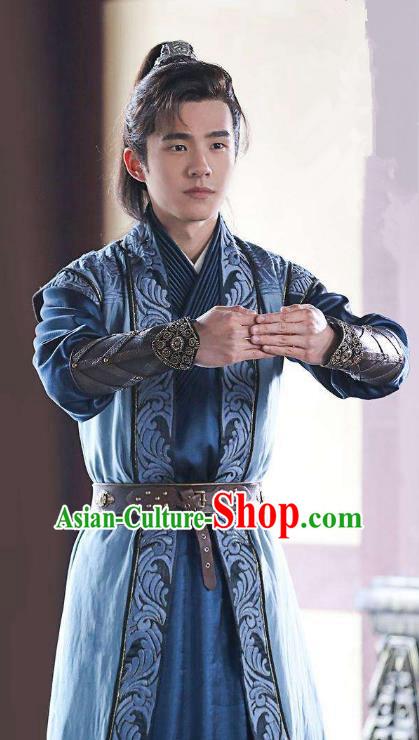 211eeb724 Nirvana in Fire Chinese Ancient Liang State Young Swordsman Xiao Pingjing Replica  Costume for Men