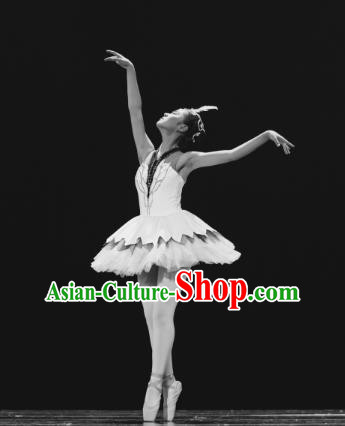 Traditional Chinese Folk Dance Ballet Costume, Children Classical Dance Dress Clothing for Kids